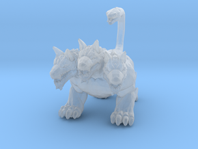 Cerberus dog 1/60 miniature for games and rpg in Smooth Fine Detail Plastic
