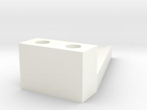 Gizmo Caster Guage in White Processed Versatile Plastic