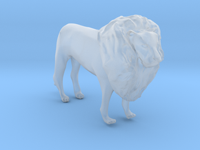 O Scale Lion in Smooth Fine Detail Plastic