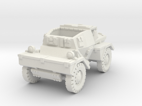 Daimler Dingo mk1 (open) 1/87 in White Natural Versatile Plastic