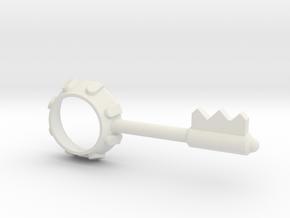 Resident Evil Bezel Key in White Natural Versatile Plastic