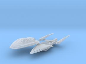 "Endeavour Class BattleCruiser 6.1"" in Smooth Fine Detail Plastic"