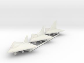 (1:144) Lippisch DM1 (Entwurf I, II & III) in White Natural Versatile Plastic