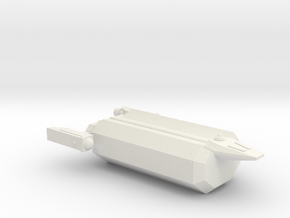 Omni Scale Hydran Small Freighter (Class-I) CVN in White Natural Versatile Plastic