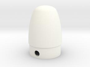Classic estes-style nose cone BNC-20A in White Processed Versatile Plastic