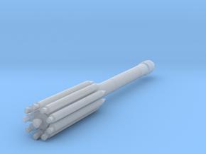 1:288 Miniature Delta II Rocket in Smooth Fine Detail Plastic: 1:288