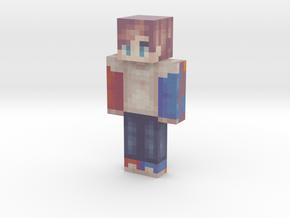 Kid_Kraken | Minecraft toy in Natural Full Color Sandstone