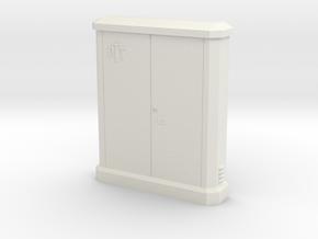 1/24 sub distributor PTT / sous répartiteur PTT in White Natural Versatile Plastic