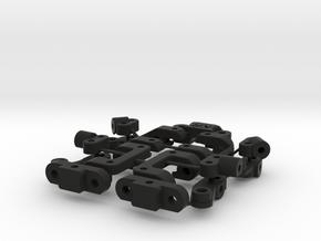 KR_v2_suspension_parts in Black Natural Versatile Plastic