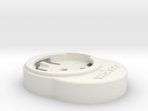 Wahoo Mount Adapter for Canyon Aerocockpit in White Natural Versatile Plastic