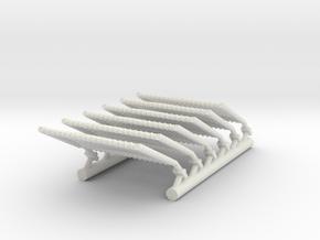 1/48 Warship Netting Extended in White Natural Versatile Plastic