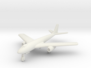 (1:144) Focke-Wulf Fw 1000x1000x1000 A (Gear down) in White Natural Versatile Plastic