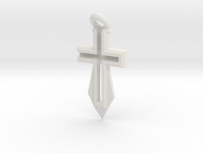 CrossSword v1.0.1 in White Natural Versatile Plastic