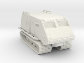 Troup Carrier Landram 160 Scale in White Natural Versatile Plastic