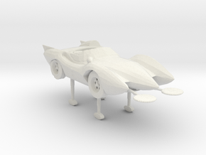 Mach 5 deploy mode 160 scale in White Natural Versatile Plastic
