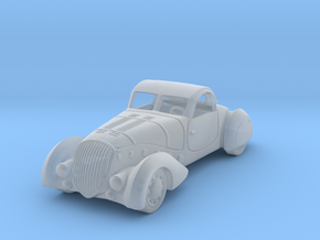 Peugeot 402 1938   1:87 HO in Smooth Fine Detail Plastic