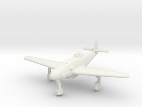 (1:144) Messerschmitt Me 309 V2 (Wheels down) in White Natural Versatile Plastic