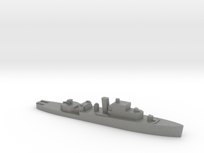 HMS Grimsby 1:1800 WW2 escort sloop in Gray PA12