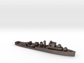 HMS Bittern 1:1800 WW2 sloop in Polished Bronzed-Silver Steel