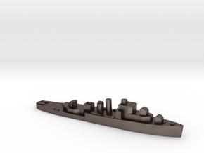 HMS Bittern 1:3000 WW2 sloop in Polished Bronzed-Silver Steel