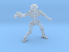 Meatbagger Pistol in Smooth Fine Detail Plastic