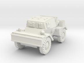 Daimler Dingo mk2 (closed) 1/76 in White Natural Versatile Plastic
