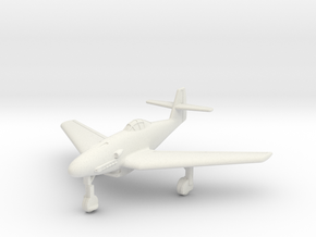 (1:144) Messerschmitt Me 309 w/ Swept wings  in White Natural Versatile Plastic