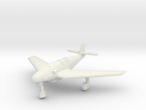 (1:144) Messerschmitt Me309 XIII/246 w/ Swept wing in White Natural Versatile Plastic
