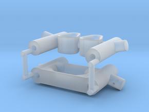 ASD 2810 MkII - Towing Bits in Smooth Fine Detail Plastic