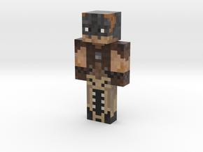 EvilAFM | Minecraft toy in Natural Full Color Sandstone