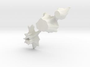 S Scale stumps 2 in White Natural Versatile Plastic