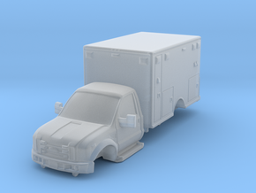 1/87 F450 Generic Medic/Ambulance in Smooth Fine Detail Plastic