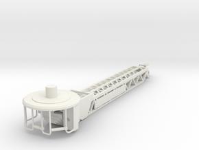 1/87 Rosenbauer Ladder Boom in White Natural Versatile Plastic