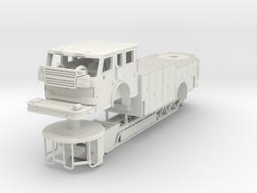 1/87 Rosenbauer Viper Single Axle in White Natural Versatile Plastic