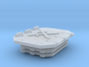 Crossed Swords Jericho Tank set  in Smooth Fine Detail Plastic