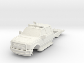1/87 F550 4 Door Medic Chassis in White Natural Versatile Plastic