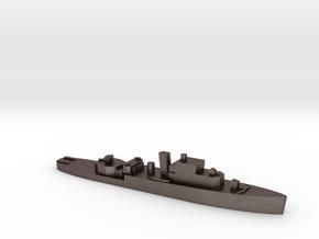 HMS Grimsby 1:2400 WW2 escort sloop in Polished Bronzed-Silver Steel