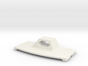 Iphone wall holder in White Natural Versatile Plastic