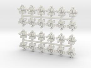 Assault Bot in White Natural Versatile Plastic