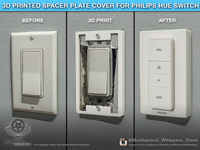 Philips Switch Decora Plate (Set of 6 Discounted) in White Natural Versatile Plastic
