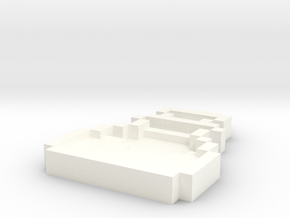 Pixel Art  - Potion in White Processed Versatile Plastic