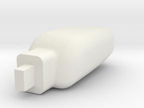 1/24 scale Peterbilt 389  Light RH in White Natural Versatile Plastic
