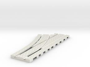 p-14stw-left-point-25d-250r-100-1a in White Natural Versatile Plastic