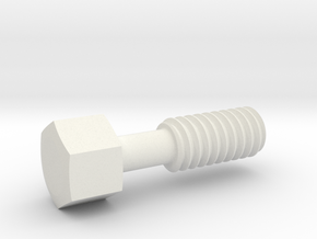 1:1 Apollo RCS Vent Plug in White Natural Versatile Plastic