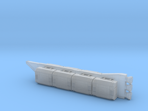 TextSpaced Tanker in Smoothest Fine Detail Plastic