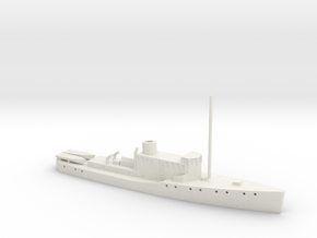 1/350 Scale HMAS Vigilant 102 foot Patrol Vessel in White Natural Versatile Plastic