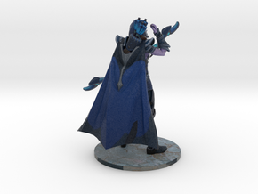 Drow Ranger Grabbing Arrow in Natural Full Color Sandstone