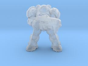 Starcraft Marine Captain 1/60 miniature games rpg in Smooth Fine Detail Plastic