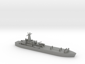 1/2400 Scale British LST-3 in Gray PA12
