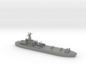 1/1250 Scale British LST-3 in Gray PA12
